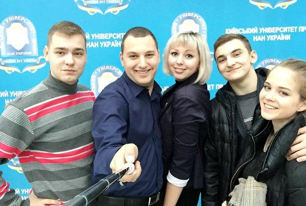 представники самоврядування різних навчальних закладів у Київському університеті права НАН України